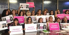 Reclamo por más mujeres en la justicia