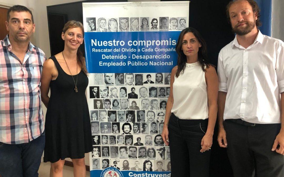 Visita Comisión de Trabajo por reconstrucción de identidad