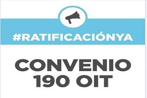 Por la ratificación del convenio 190 de la OIT