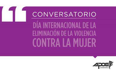 Día Internacional de Eliminación de Violencia contra la mujer